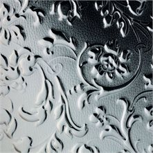 SIBU Design SIBU Leather LL FLORAL Platin mat