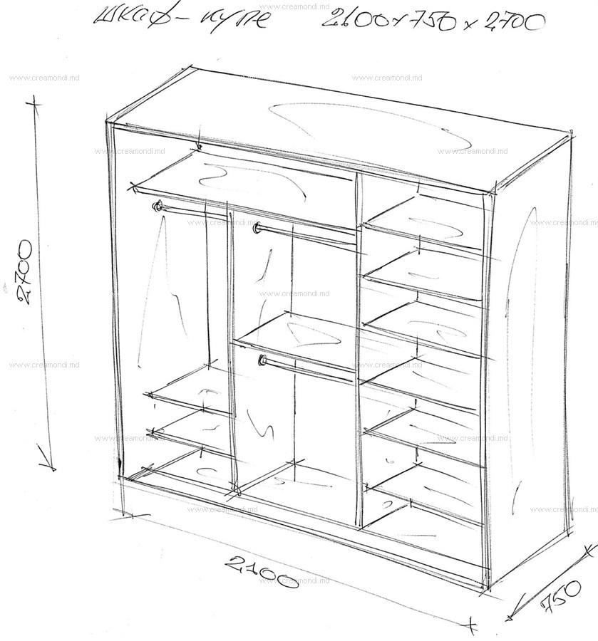 Гардеробный шкаф своими руками чертежи и схемы фото