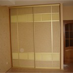 Sliding door wardrobes Mirror sliding door wardrobe for the bedroom