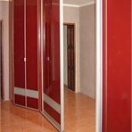 Sliding door wardrobes Voluminous sliding door wardrobe doesn't block the room up
