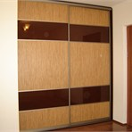 Sliding door wardrobes LOOM L-8: smash-hit