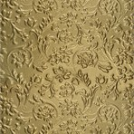 SIBU Design SIBU Leather LL FLORAL Gold mat